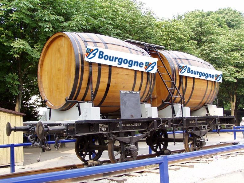 wagon bourgogne