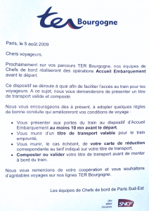 Annonce Accueil Embarquement